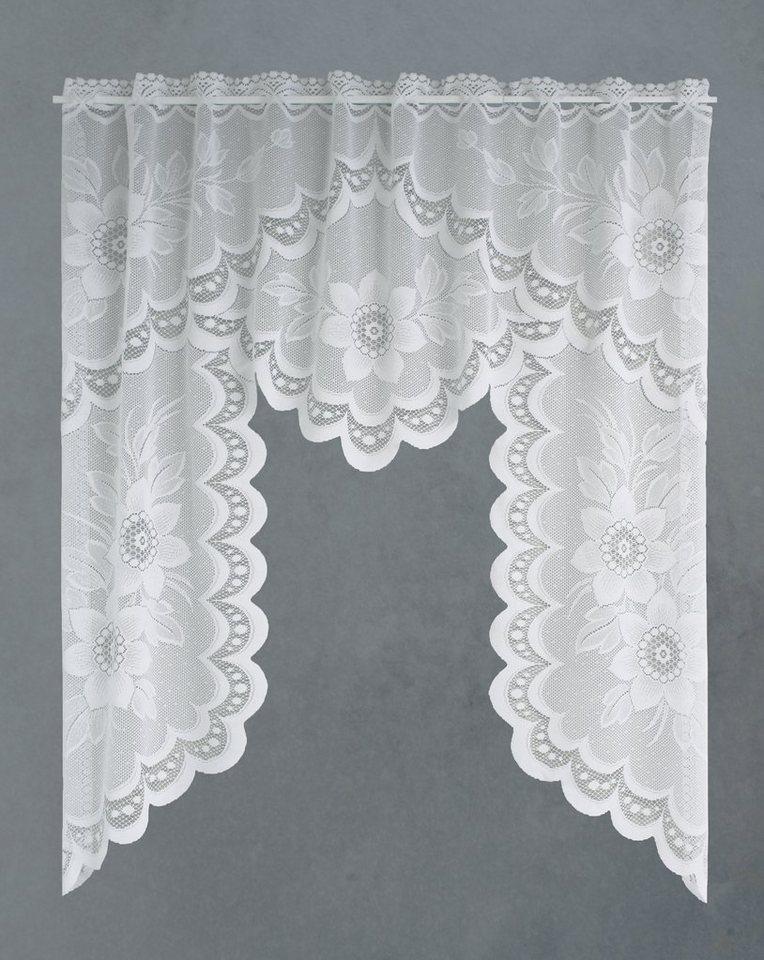 Kleinfenster-Mittelbogen, VHG, »Dora« in weiß