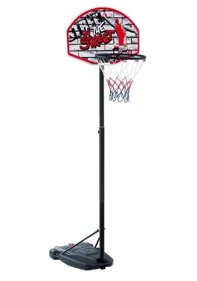 4Uniq Basketballständer, »Street« in schwarz