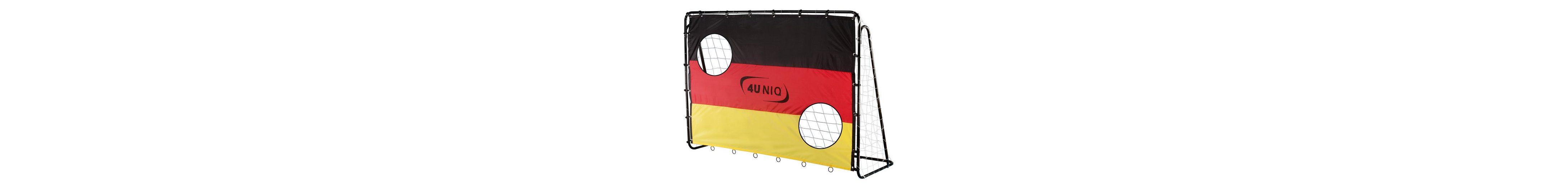 4Uniq Fußballtor mit Torwand, »Champion Germany«
