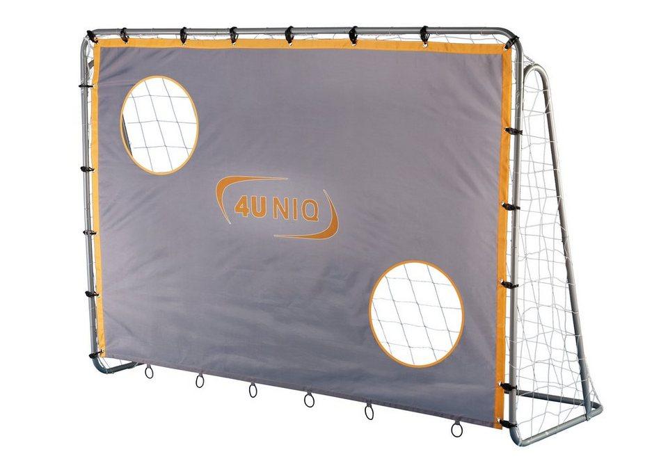 4uniq fu balltor mit torwand champion kaufen otto. Black Bedroom Furniture Sets. Home Design Ideas