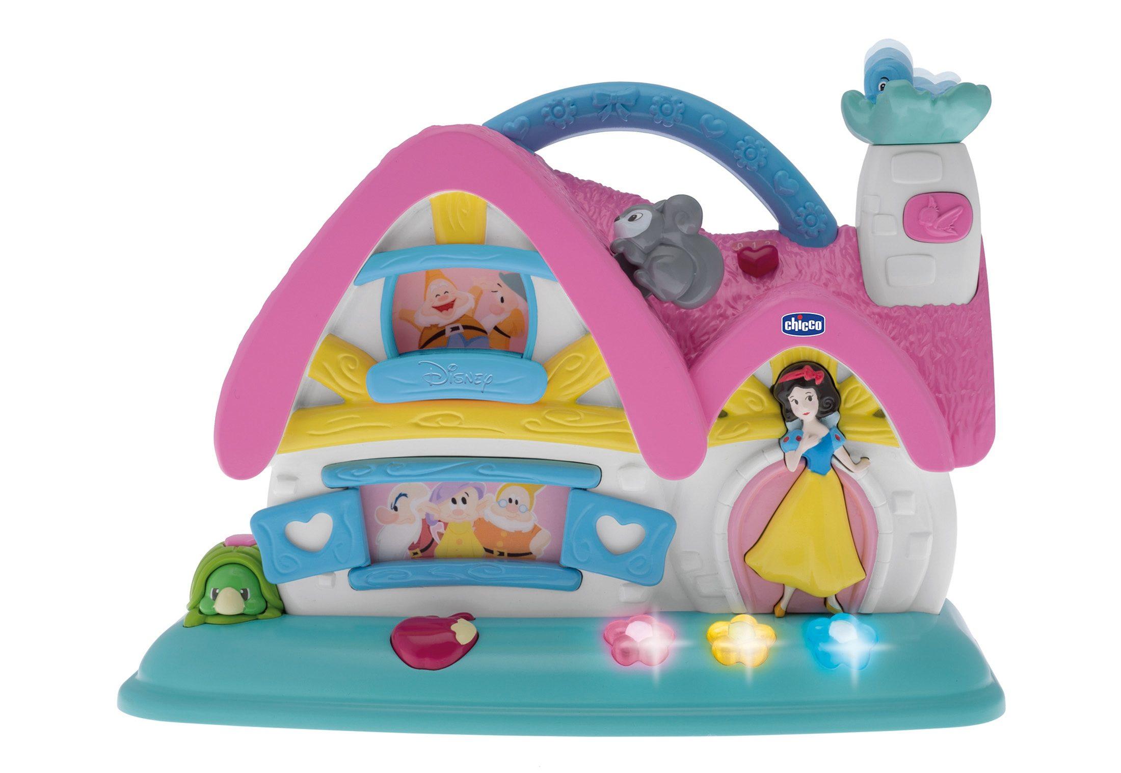 Chicco®, Spielhaus »Disney Baby, Disney Princess Musikhaus Schneewittchen und die 7 Zwerge«