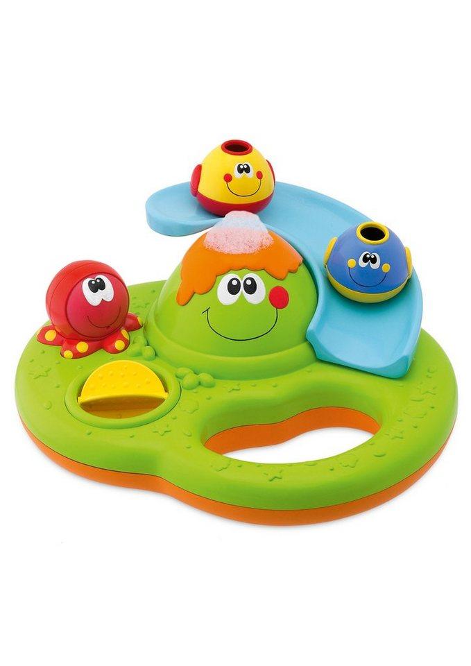 Chicco®, Badespielzeug »Baby Classic, Magische Seifenblaseninsel« in grün