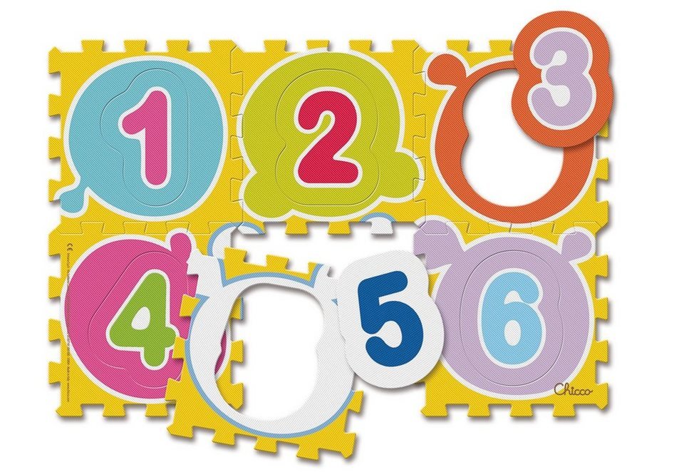 Chicco®, Puzzle »Mov'n Grow, Puzzlematte Zahlen«