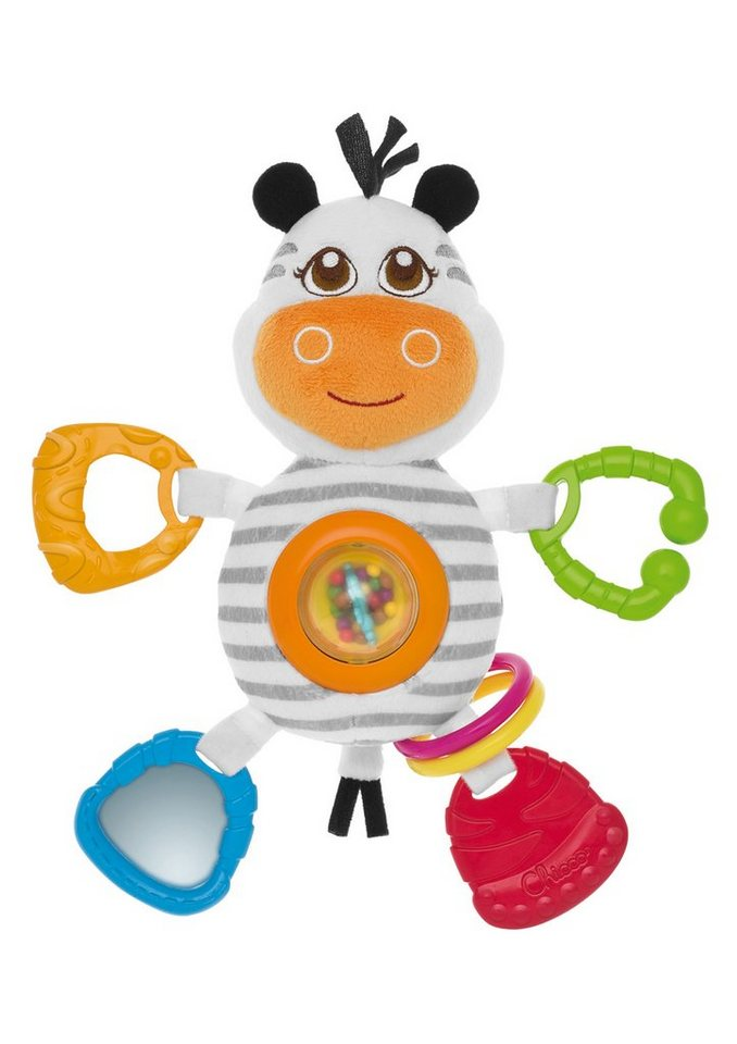 Chicco®, Babyspielzeug »4ever Friends, Mrs. Zebra« in bunt