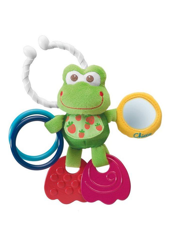 Chicco®, Rassel »Baby Senses Line, Erste Aktivitäten Frosch« in bunt
