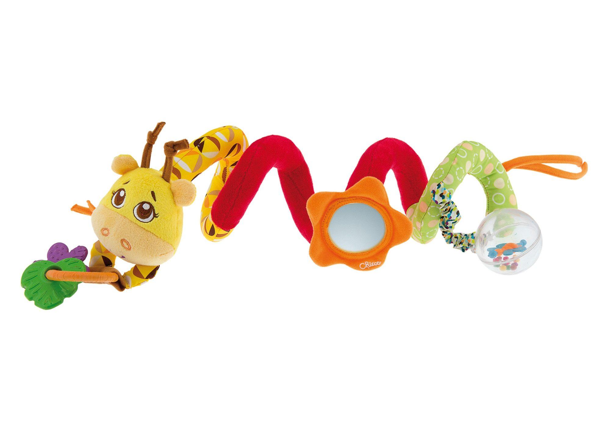 Chicco®, Kinderwagenzubehör »Kinderwagenkette Mrs. Giraffe«