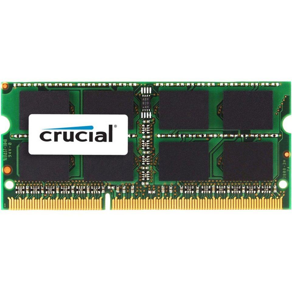 Crucial Arbeitsspeicher »SO-DIMM 2 GB DDR3-1600«