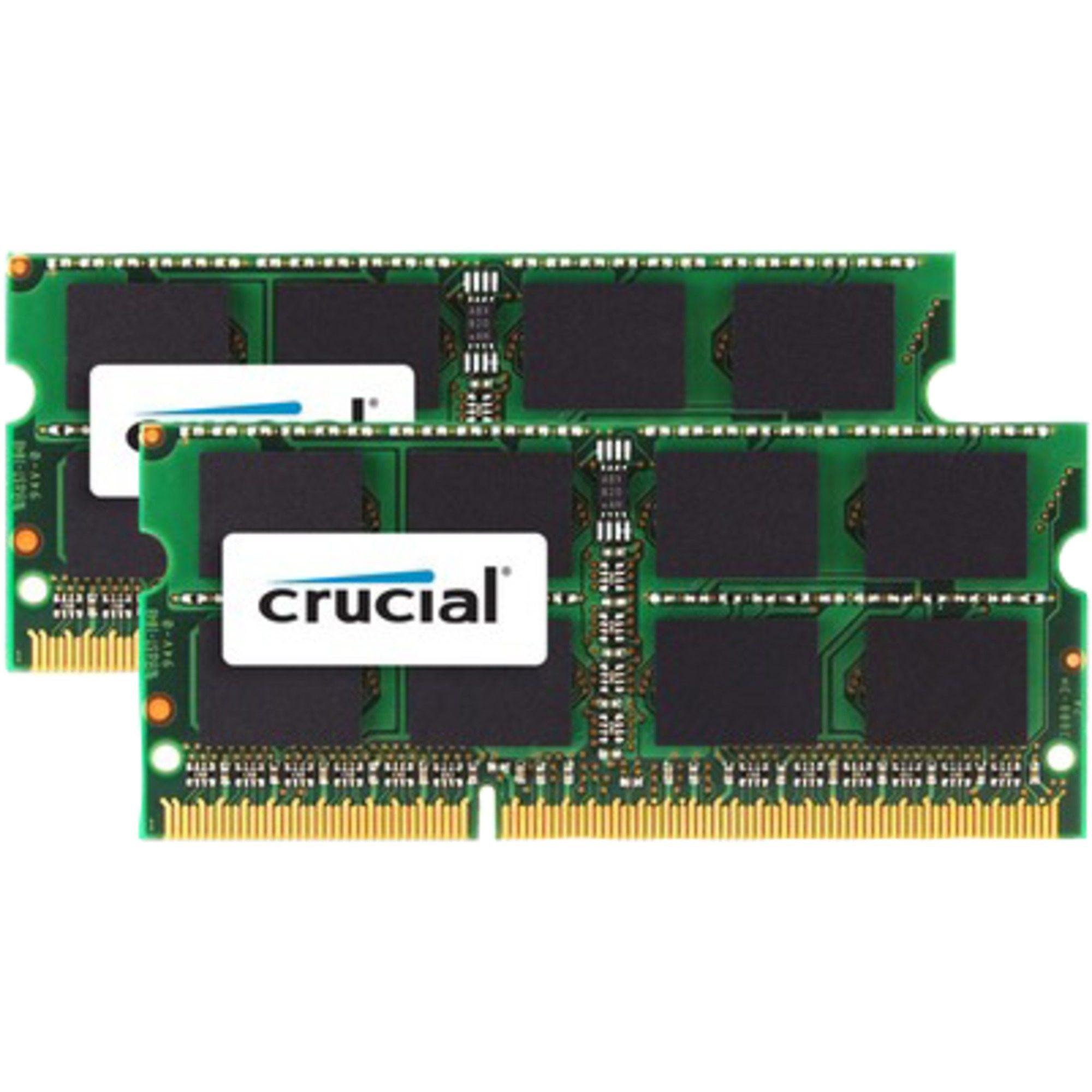 Crucial Arbeitsspeicher »SO-DIMM 16GB DDR3-1600 Mac Kit«