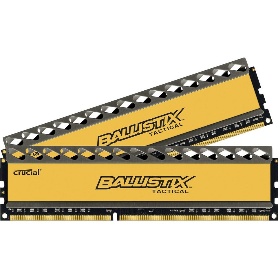 Crucial Arbeitsspeicher »DIMM 16 GB DDR3-1866 Kit«