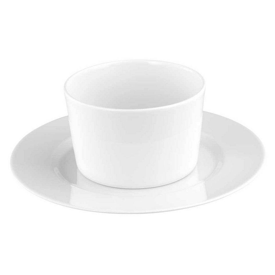 Seltmann Weiden Sauciere mit Unterteil »No Limits Uni« in Weiß