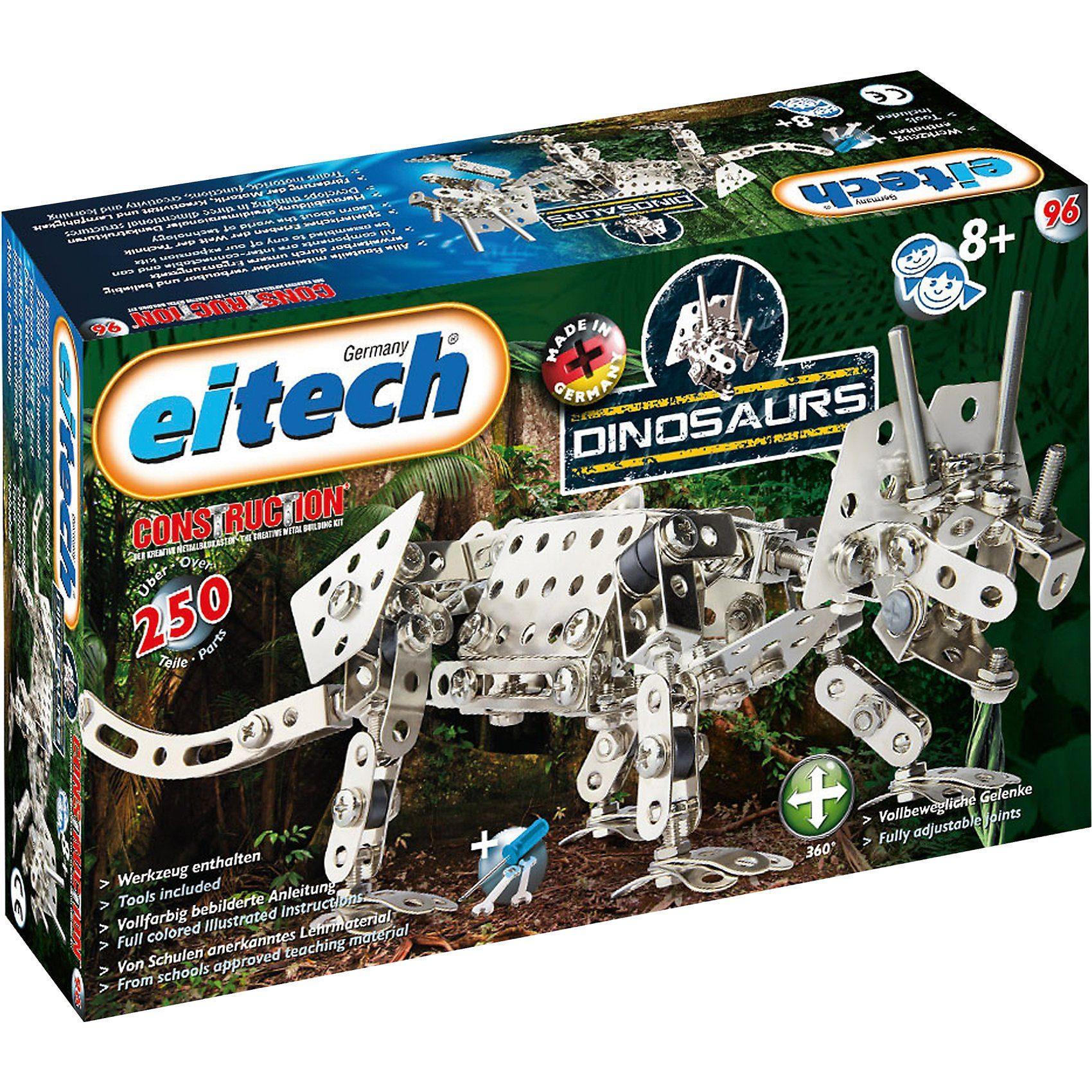 Eitech 96 DINOSAURS Metallbaukasten - Triceratops