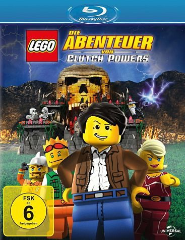 Blu-ray »Lego: Die Abenteuer von Clutch Powers«
