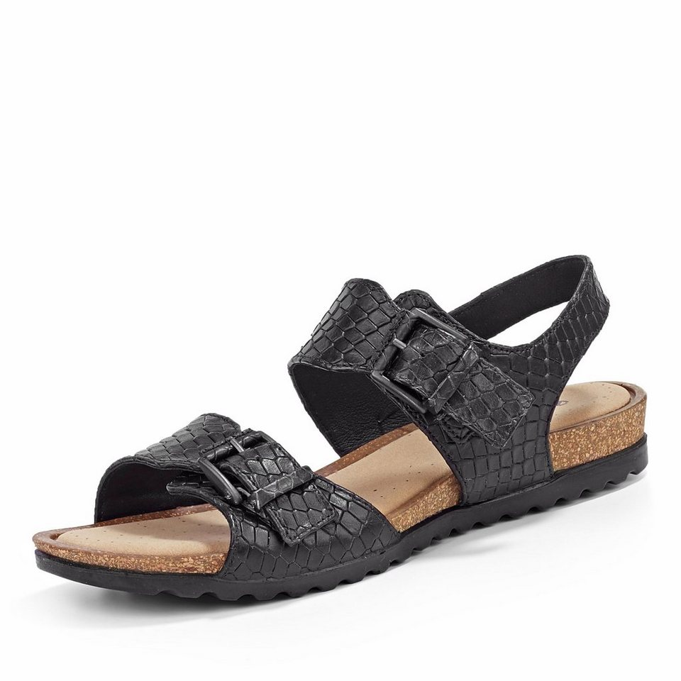 Ecco Sandale in schwarz