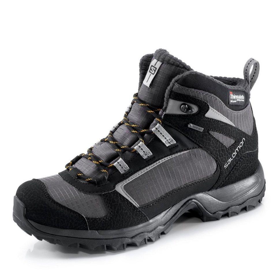 Salomon GORE-TEX® Winterboots in schwarz/grau
