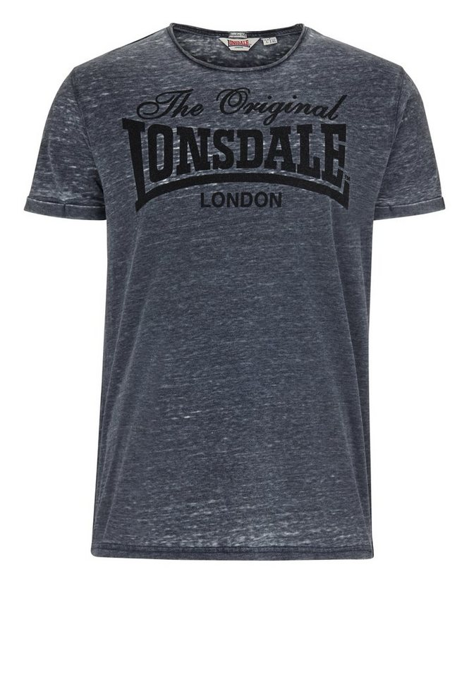Lonsdale T-Shirt »HORLEY« in Anthracite