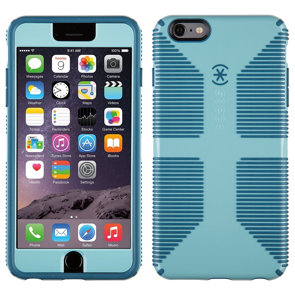 "Speck HardCase »CandyShell Grip + FacePlate iPhone (6) Plus 5.5"" R« in blau"