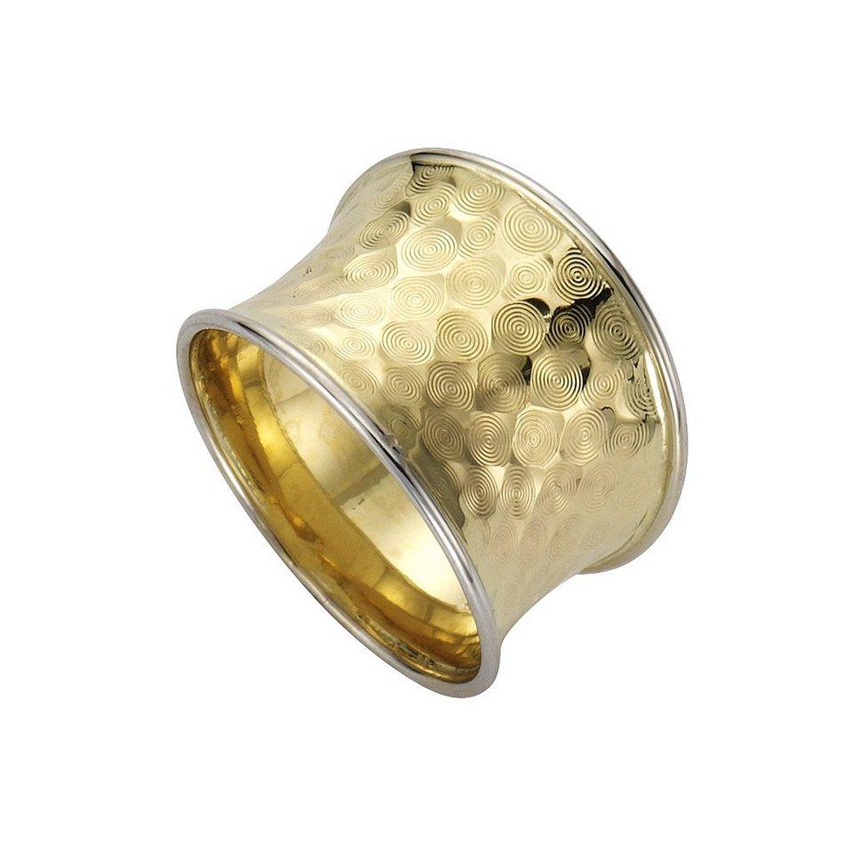 Fascination by Ellen K. Ring »333/- Gold bicolor diamantiert« in gelb