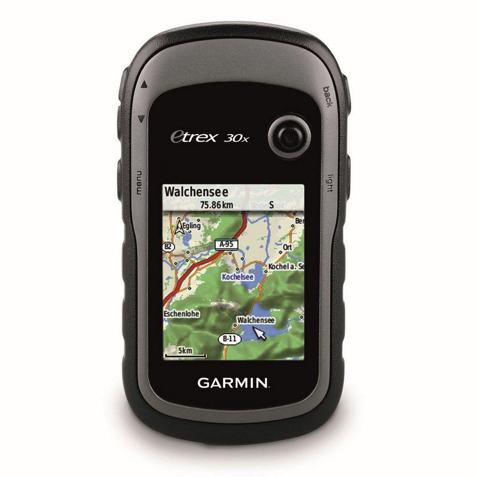 Garmin Outdoor-Navigationsgerät »eTrex 30x inkl. TopoActive-Karte (Westeuropa)« in Schwarz-Grau