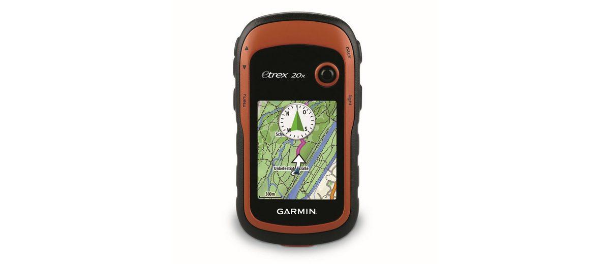Garmin Outdoor-Navigationsgerät »eTrex 20x inkl. TopoActive-Karte (Westeuropa)«