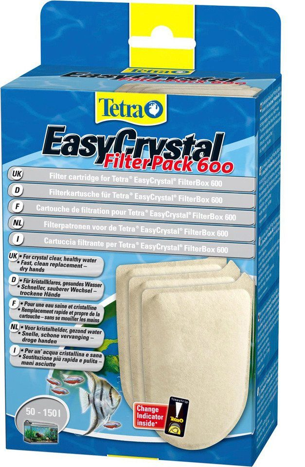 Filterkartusche »Tetra Easy Crystal Filter Pack 600« 2er Set