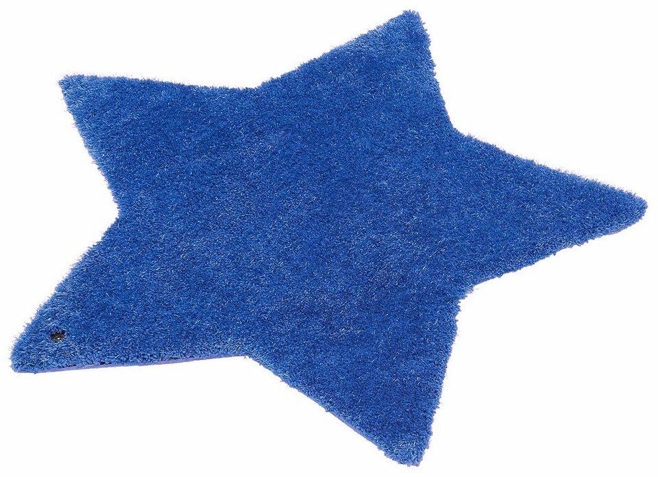Kinderteppich blau stern  Kinder-Teppich, Tom Tailor, »Soft Stern«, Hochflor, Höhe 35 mm ...
