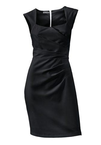 Платье с драпировка с драпировка