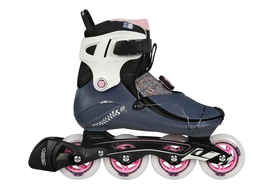 Powerslide Inline Skates Damen, »VI Cortex Pure« in rosa