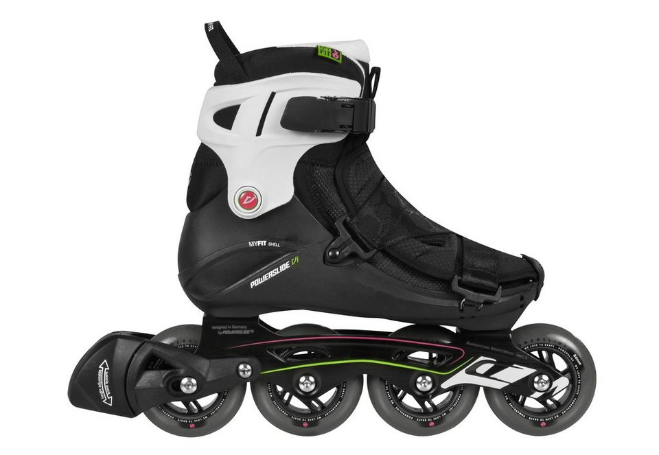 Powerslide Inline Skates Damen, »VI Core Pure« in schwarz