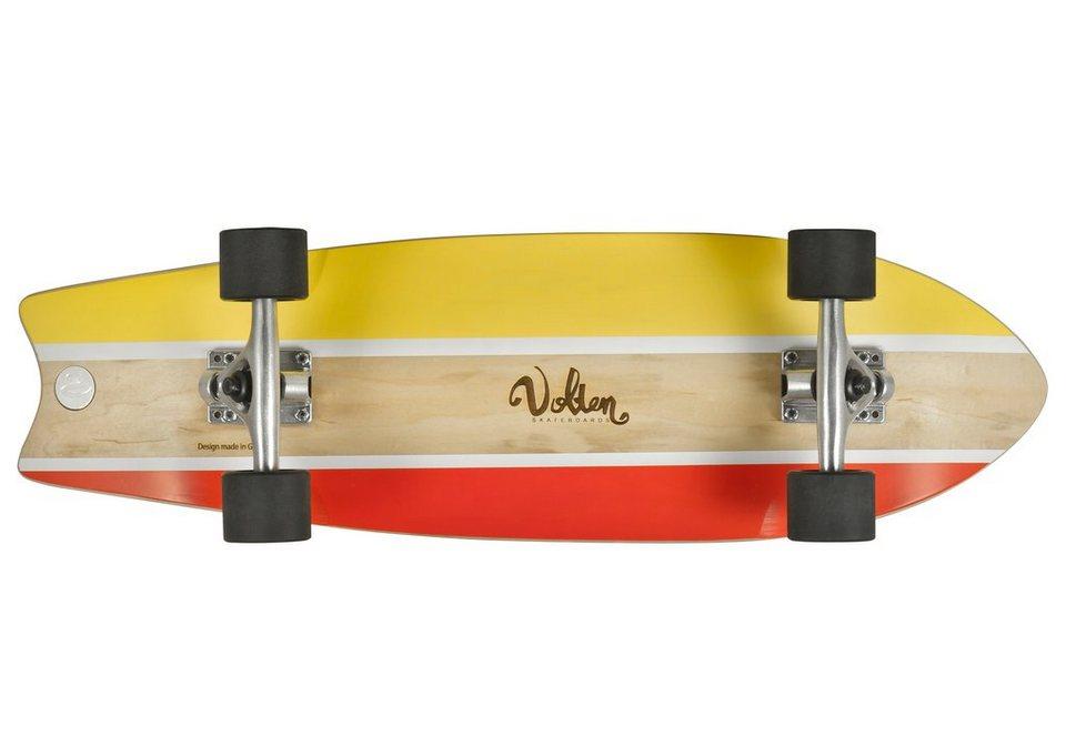 Volten Longboard, »Fish« in beigefarben