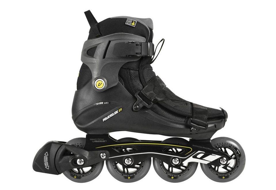Powerslide Inline Skates Herren, »VI Core Men« in schwarz