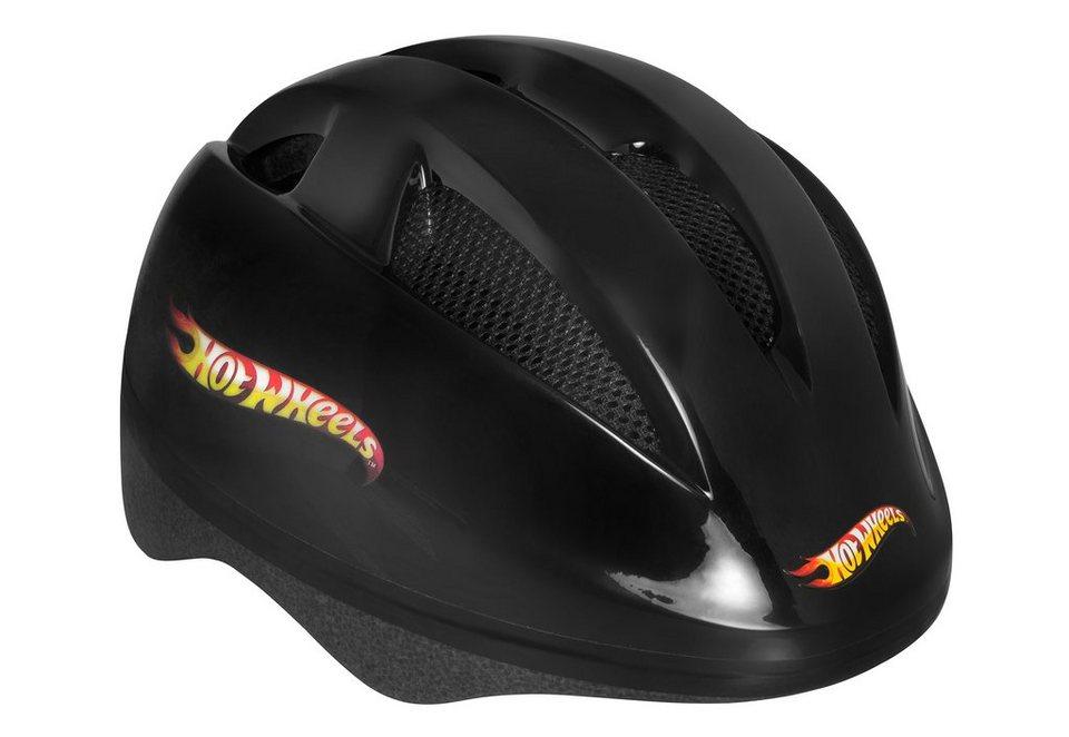 Hot Wheels Helm Kinder, »Big Logo Helmet« in schwarz