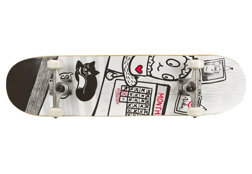 Volten Skateboard, »Revolution« in weiß