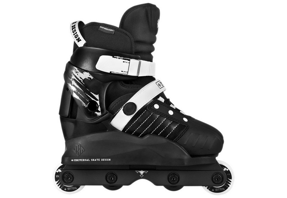 USD Agressive Skates, »Kids Transformer« in schwarz