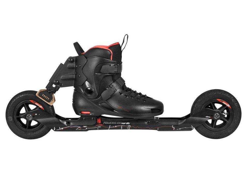 Powerslide Nordic Skates, »XC Trail II« in schwarz