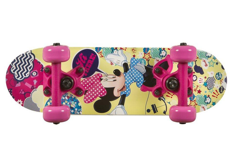 Minnie Mouse Skateboard, »Miniboard Minnie« in mehrfarbig