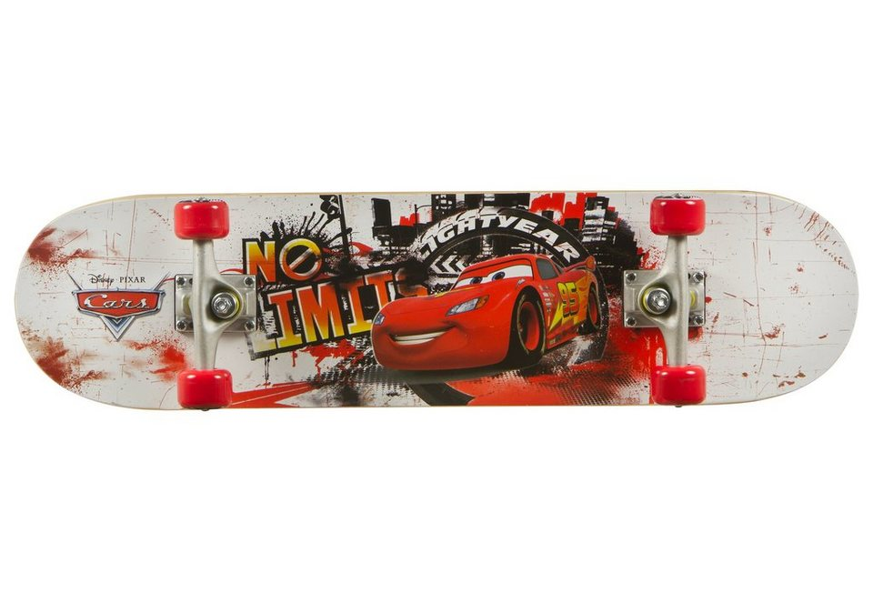 Cars Skateboard, »No Limits Board« in mehrfarbig