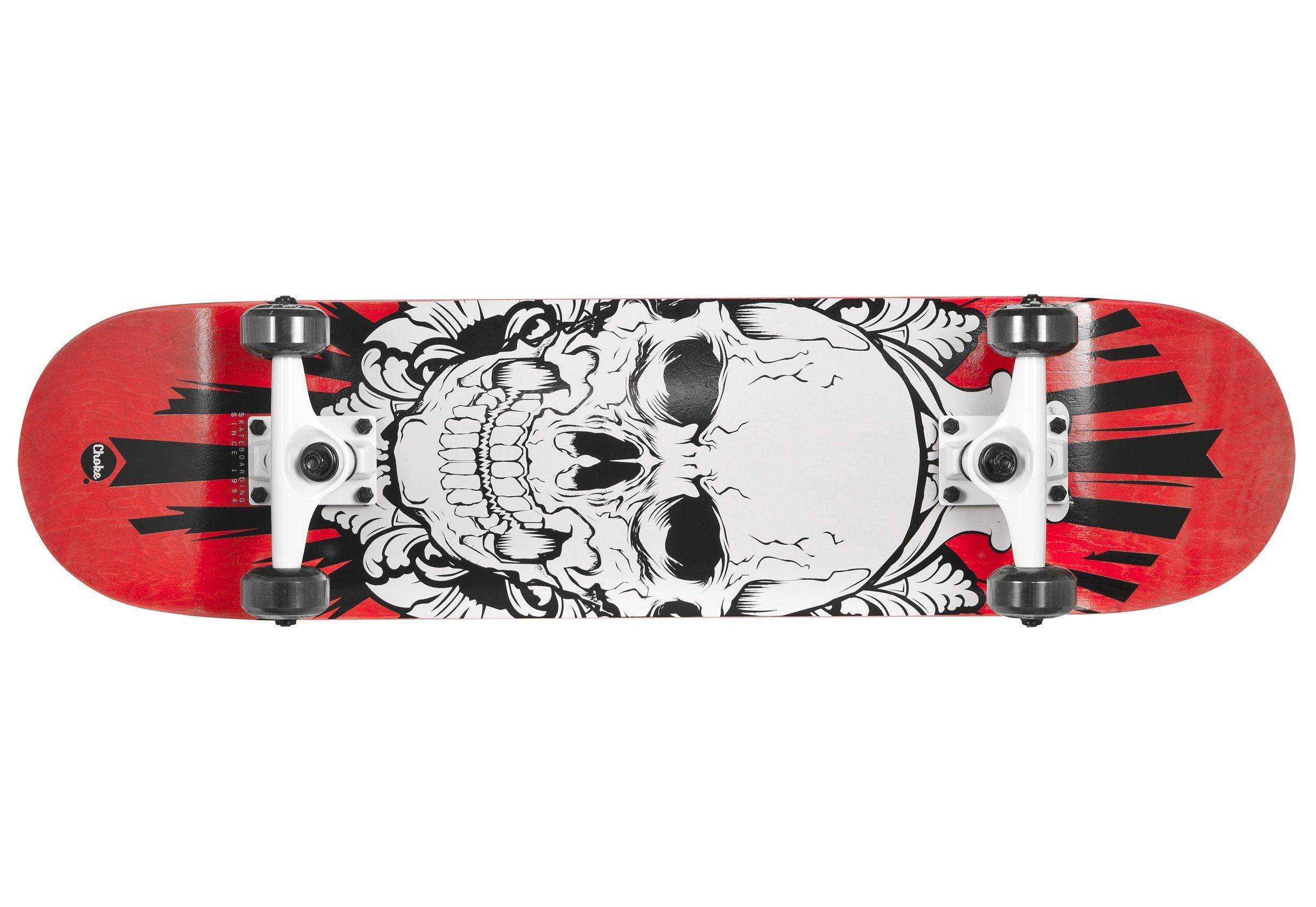 Choke Skateboard, »Skullhead«