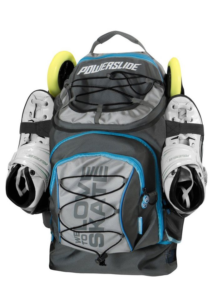 Powerslide Rucksack für Skater, »Pro Backpack« in schwarz
