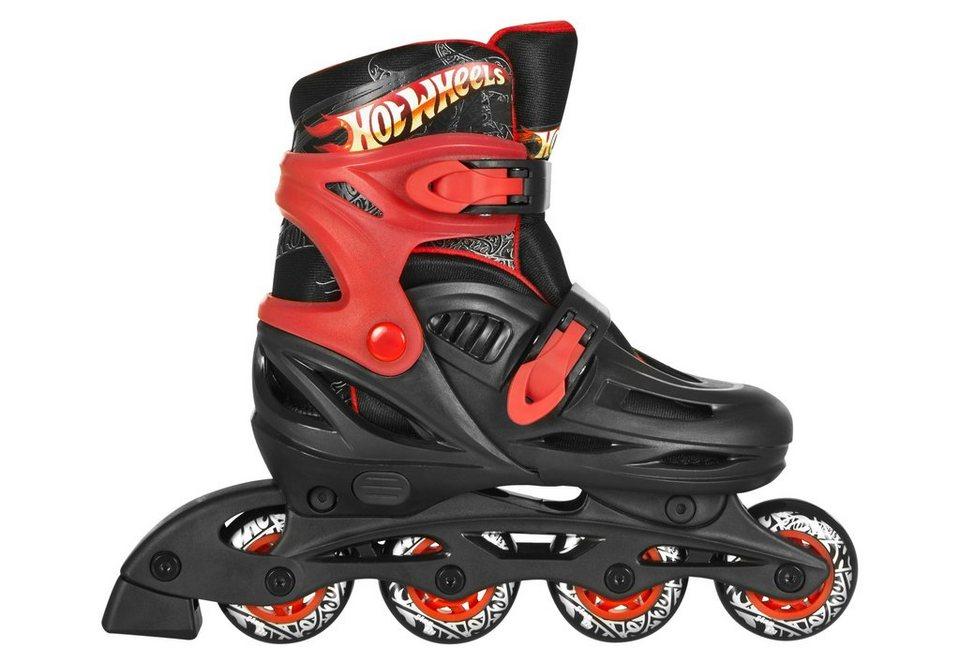 Hot Wheels Inline Skates, »Fitness Skate Big Logo« in schwarz-rot