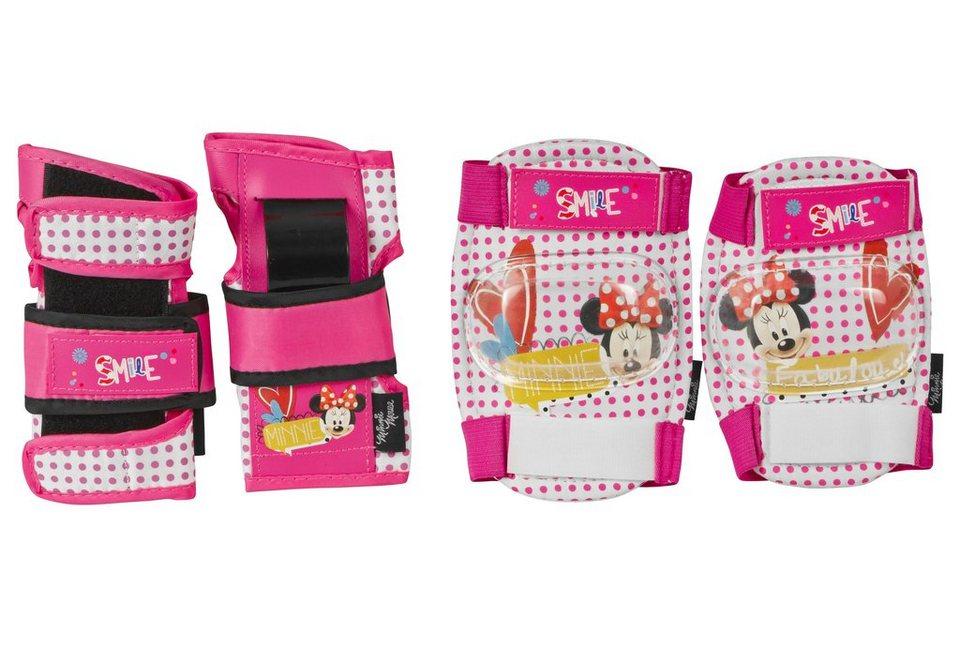 Minnie Mouse Schutzset, »Protective Gear Minnie« in rosa