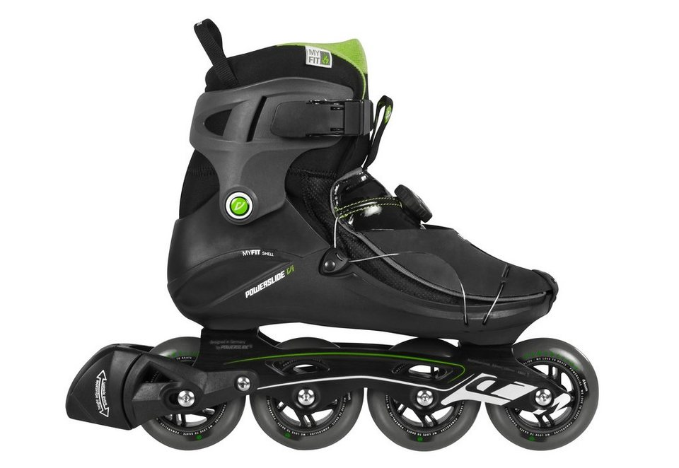 Powerslide Inline Skates Herren, »VI Cortex Men« in schwarz