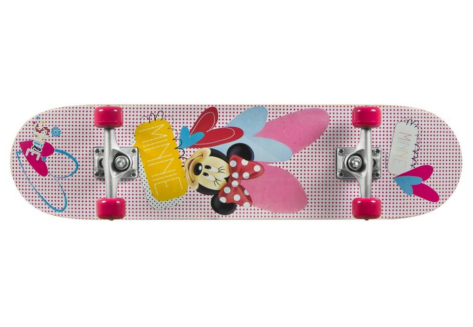 Minnie Mouse Skateboard, »Skateboard Minnie« in mehrfarbig