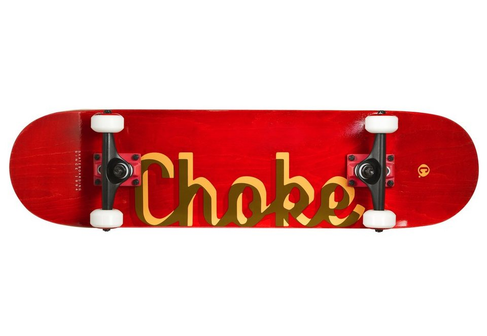 Choke Skateboard, »The Red« in rot