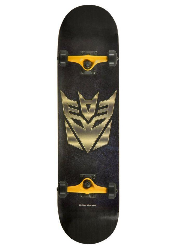 Transformers Choke Skateboard, »Decepticon« in schwarz