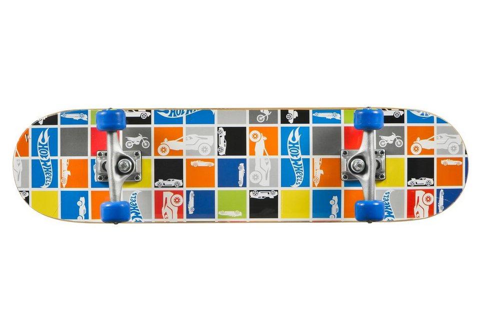 Hot Wheels Skateboard, »Patch Work« in mehrfarbig