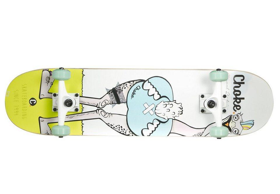 Choke Skateboard, »Miguel« in weiß