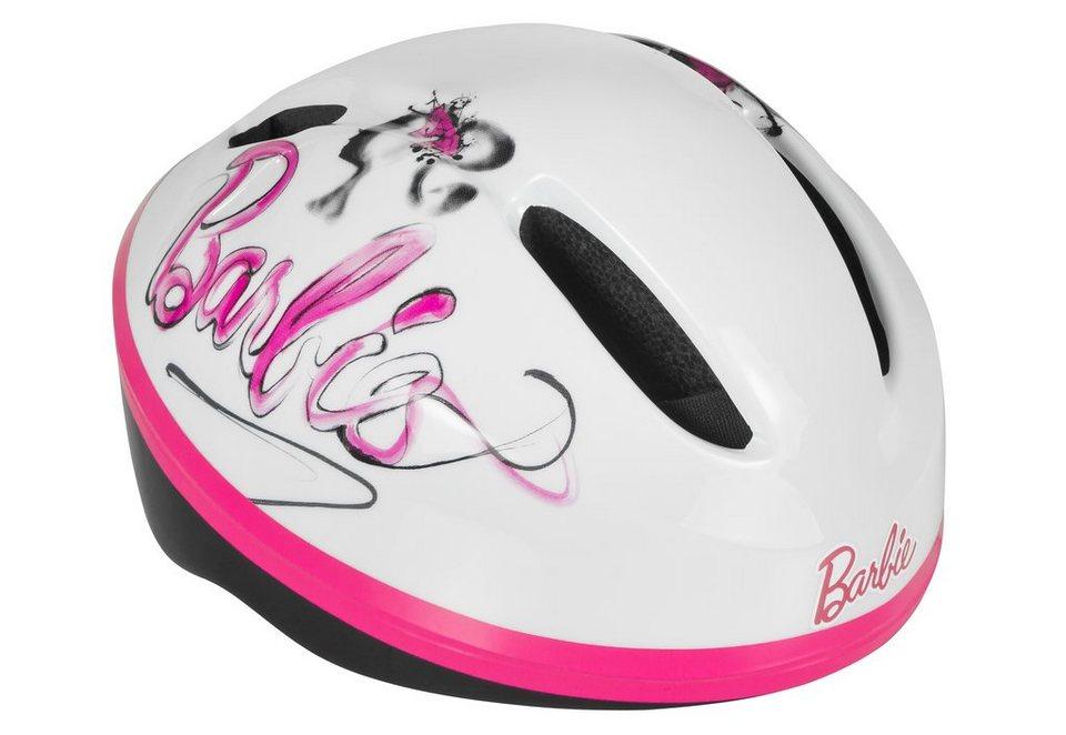 Helm Kinder, »Barbie & Friends Helmet« in weiß-rosa