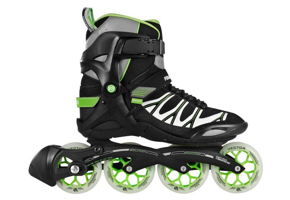 Powerslide Inline Skates Herren, »Zeta Men« in schwarz-grün