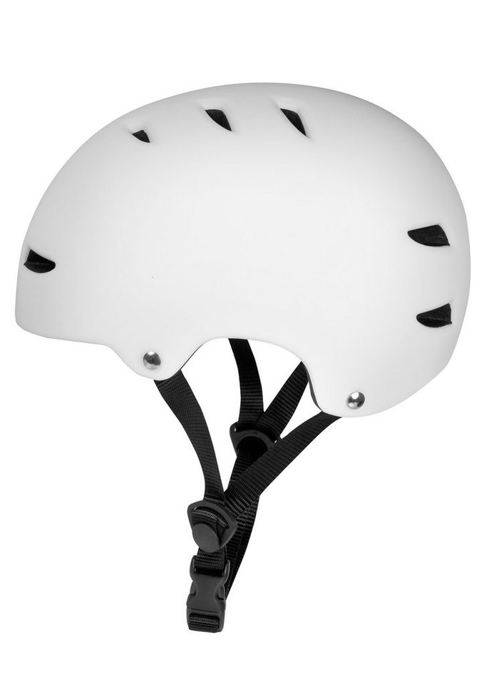 Ennui Skatehelm, »BCN - Basic Helmet« in weiß