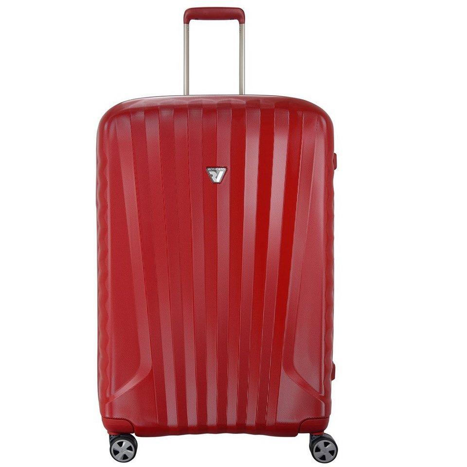 Roncato UNO ZSL Premium 4-Rollen Trolley 71 cm in rosso rosso